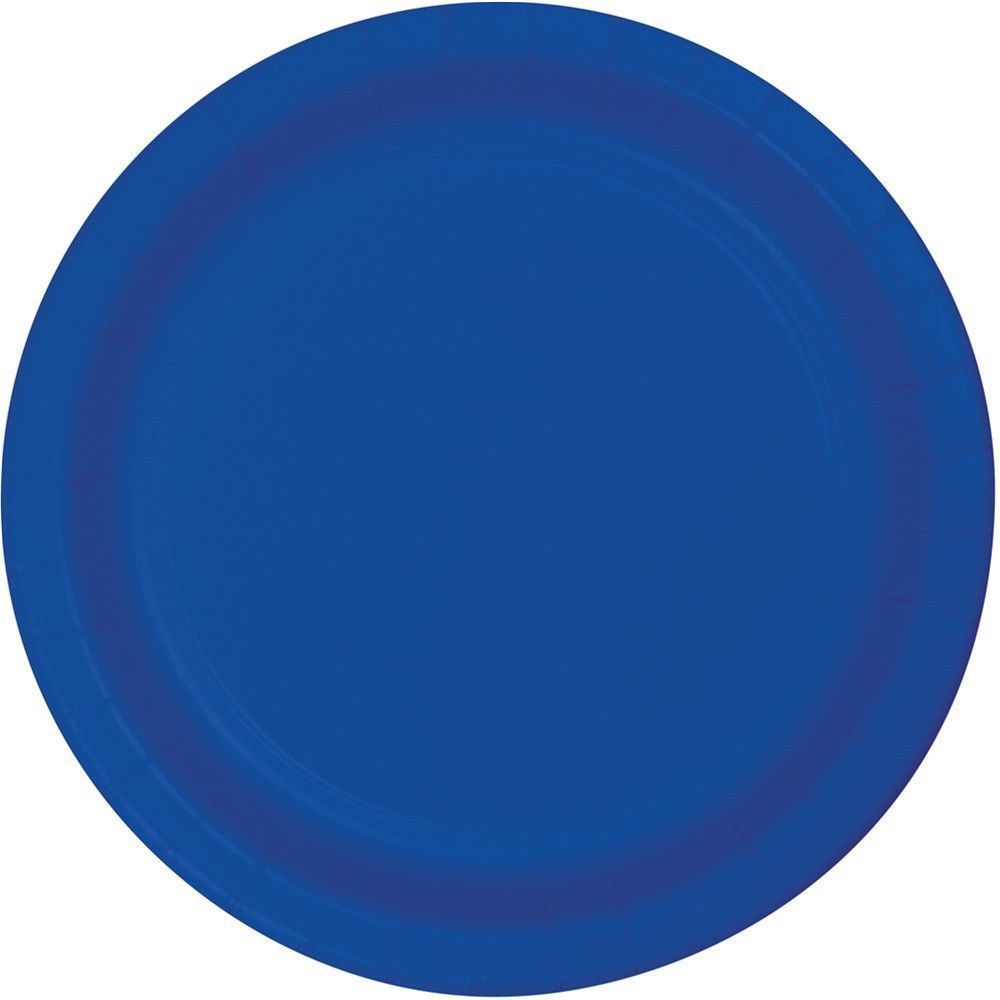 Touch of Color 9 inch Dinner Plates Cobalt/Case of 240