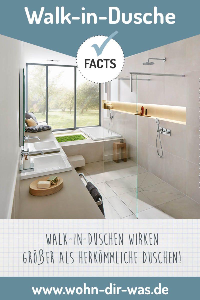 Badezimmer Richtig Planen Mit Unterstutzung Von Wohn Dir Was Walk In Dusche Kleine Badezimmer Und Wohnen