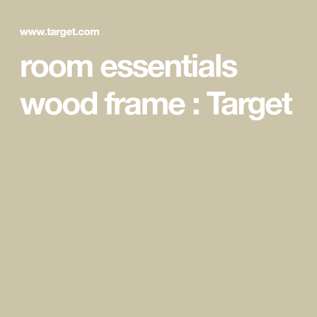 room essentials wood frame : Target | Wall Art and Frames ...