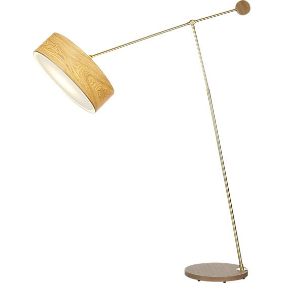 disc floor lamp  | CB2