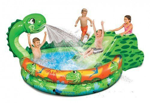 Banzai slide n splash dragon pool by banzai for Create your own pool