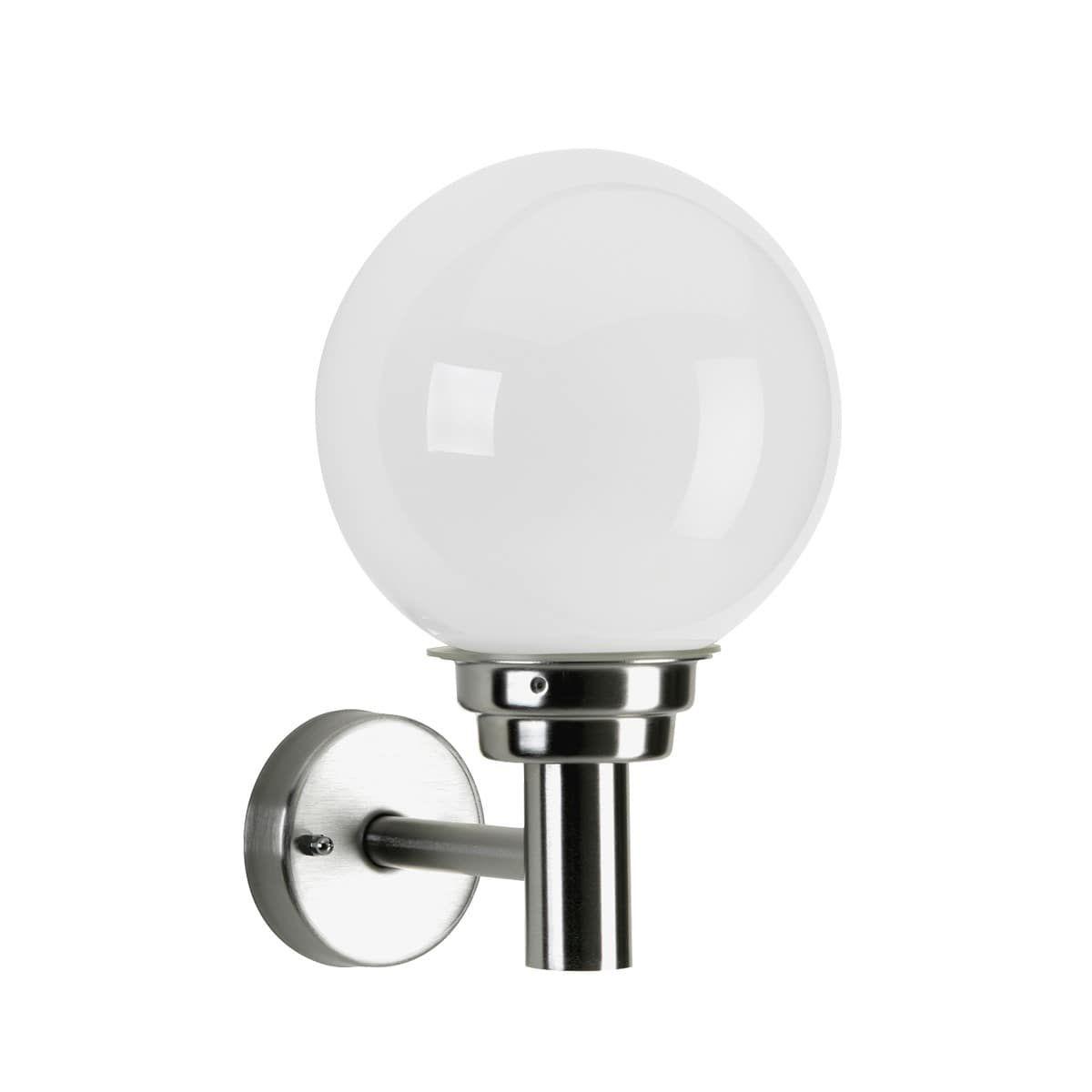 Albert 69022 Aussenwandleuchte Opalglas Led Bewegungsmelder Aussenwandleuchte Aussenbeleuchtung Led
