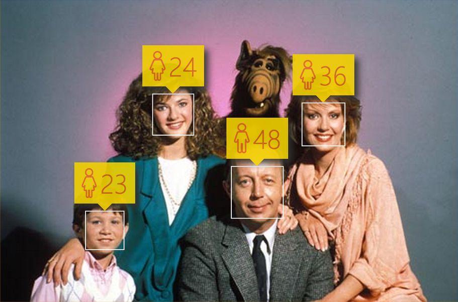 Определения возраста по фотографиям