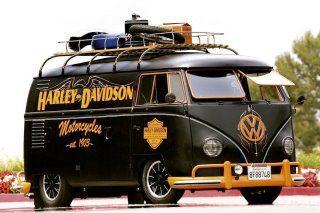 Eine sehr schöne Harley Davidson volkswagen