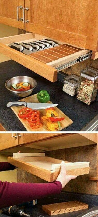 No more digging through the drawer | Good Ideas | Pinterest