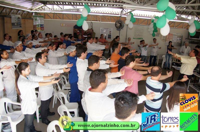 Muita Interatividade na Palestra da Cargil - SIPAT - São José do Rio Pardo - SP. Prof. Fattal