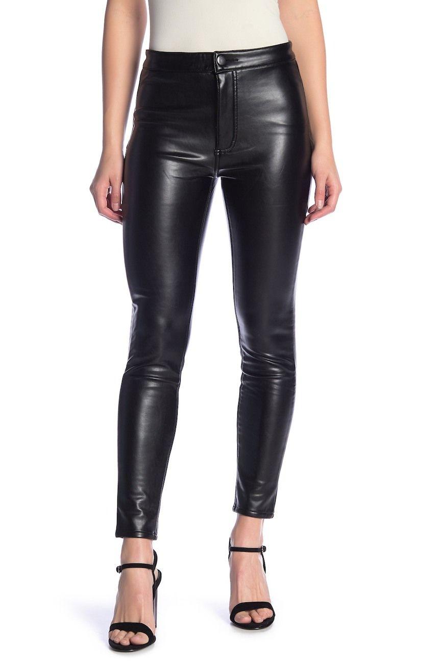1d97929335 ASHLEY MASON | High Rise Faux Leather Pants | Xmas | Leather Pants ...
