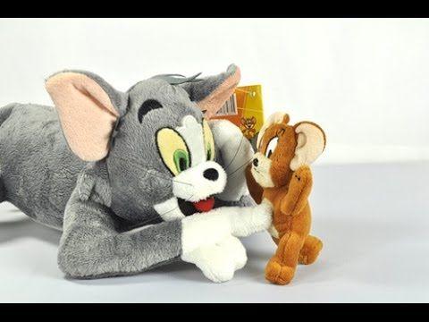توم وجيري في المصنع الجديد كرتون أطفال Childhood Toys Soft Plush Plush Toys