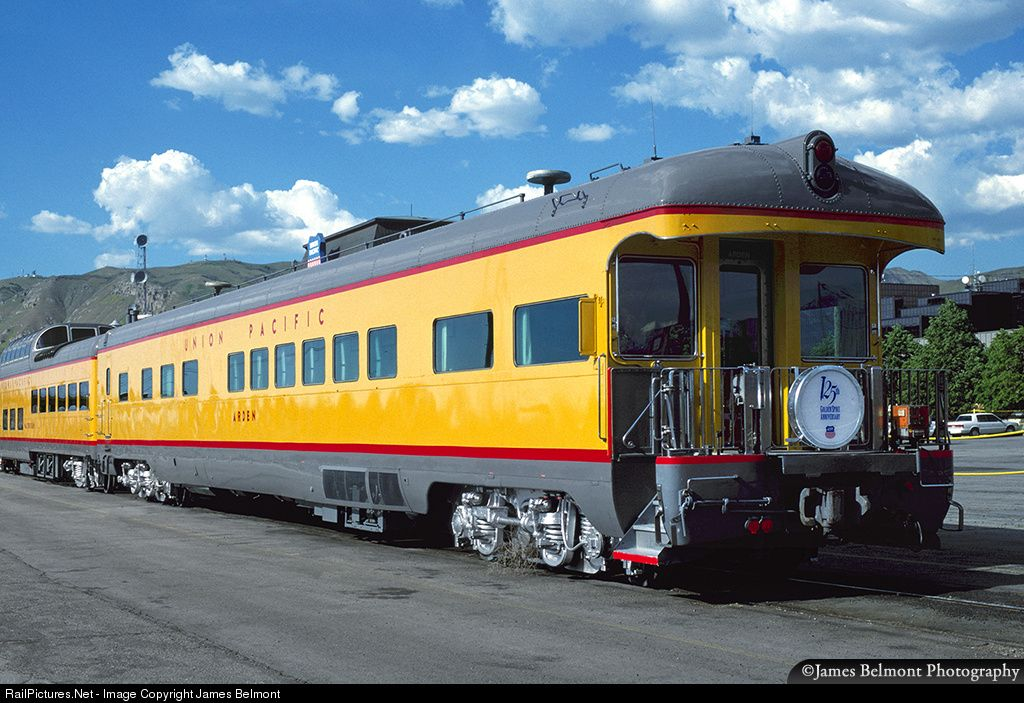 Union Pacific business car Arden was built in 1950 by