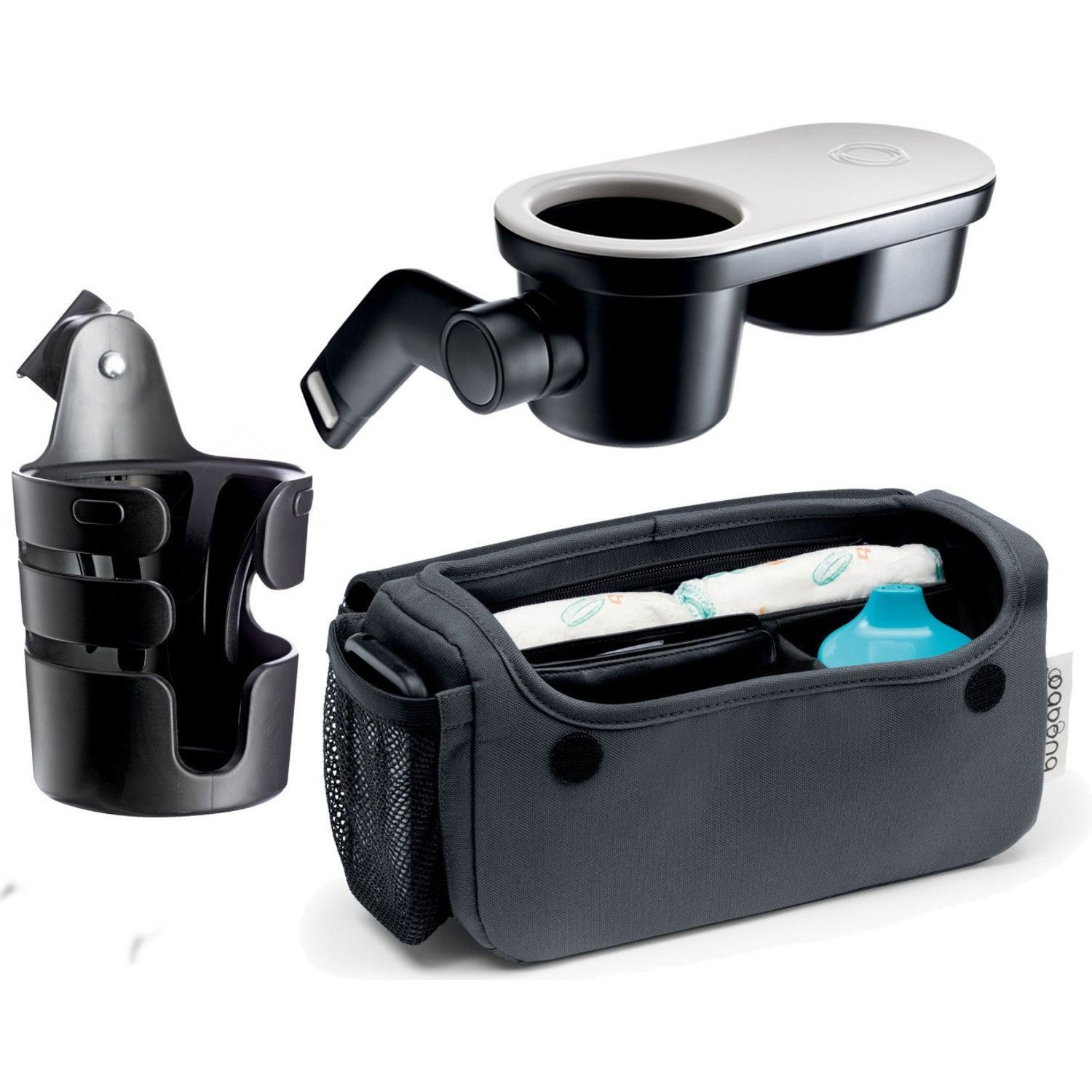 Bugaboo Cup Holder, Organizer and Snack Tray (With images