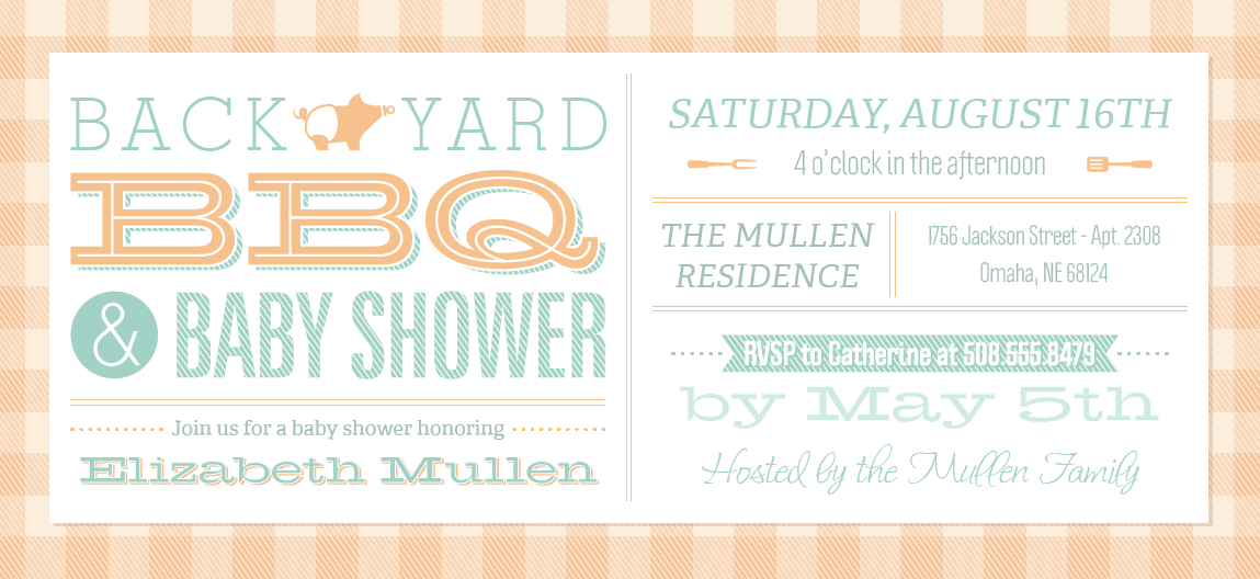 Bbq Baby Shower Vistaprint Baby Shower Invitations And Birth