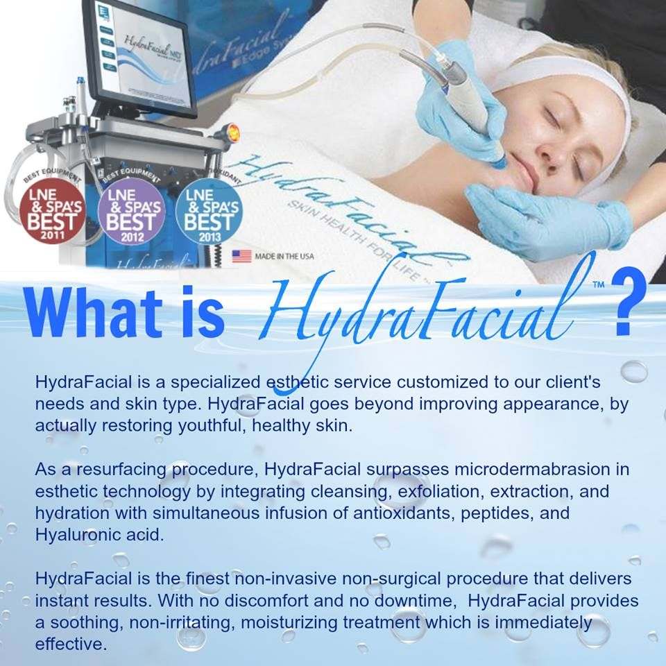 What Is A Hydrafacial Treatments Hydra Facial Skin