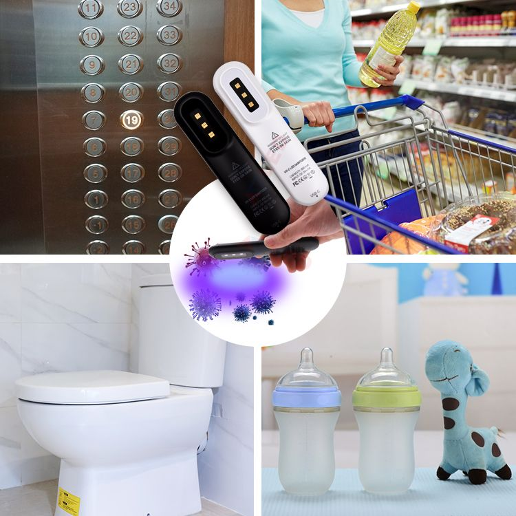 Personal Pocket Ultraviolet Disinfection Uvc Led Sterilizer Portable Uv Light In 2020 Led Portable Lamps Led Strip Lighting