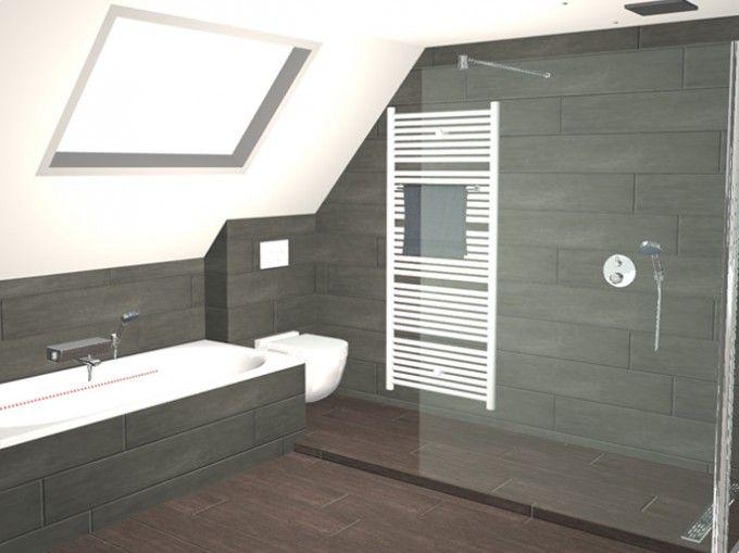 Badkamer met gekleurde led verlichting dagmar buysse 3d ontwerpen badkamers pinterest - Badkamer onder het dak ...