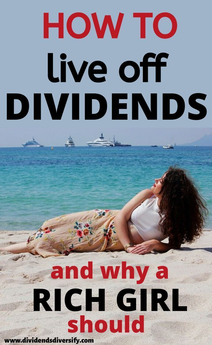 Living Off Dividends For Financial Freedom - Find Out How!