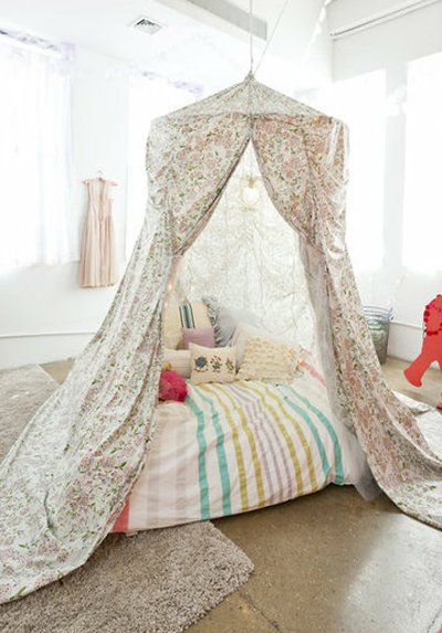 diy canopy tent | Canopy Tent Girls Room & diy canopy tent | Canopy Tent Girls Room | Lina?Space | Pinterest ...