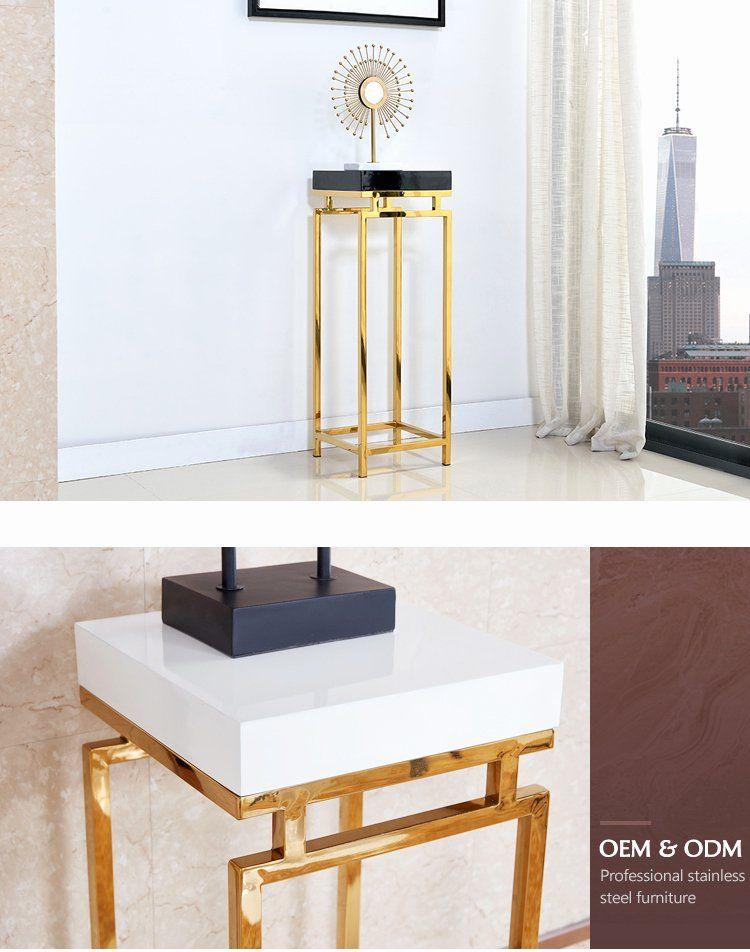 Side Tables For Living Room Modern New Modern Stainless Steel Tall Side Tables For Living Room Gold In 2020 Living Room Modern Living Room Side Table Living Room Table #tall #living #room #table
