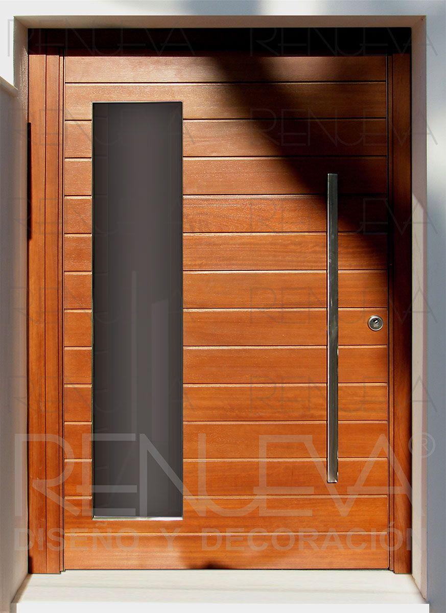 Puerta de entrada de eje pivotante | PUERTAS | Pinterest | Puerta de ...