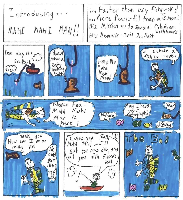 Ocean Week Comics