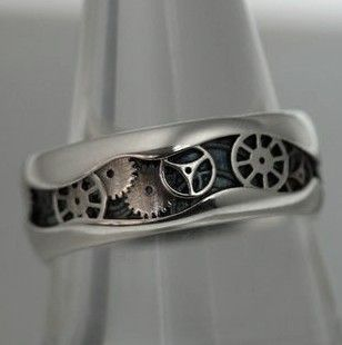 ring - Steampunk Wedding Rings