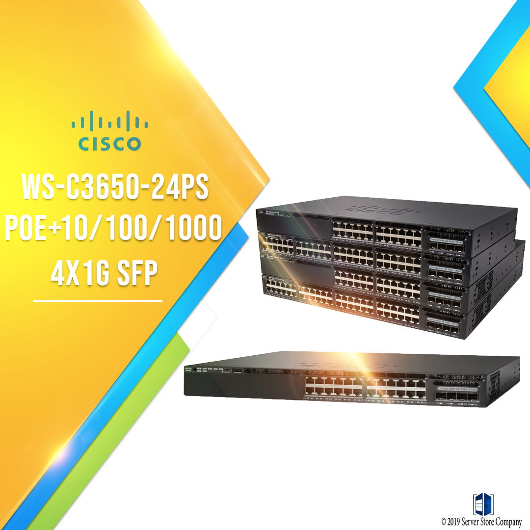 Cisco Catalyst 3650 Series Switches Get faster access, faster