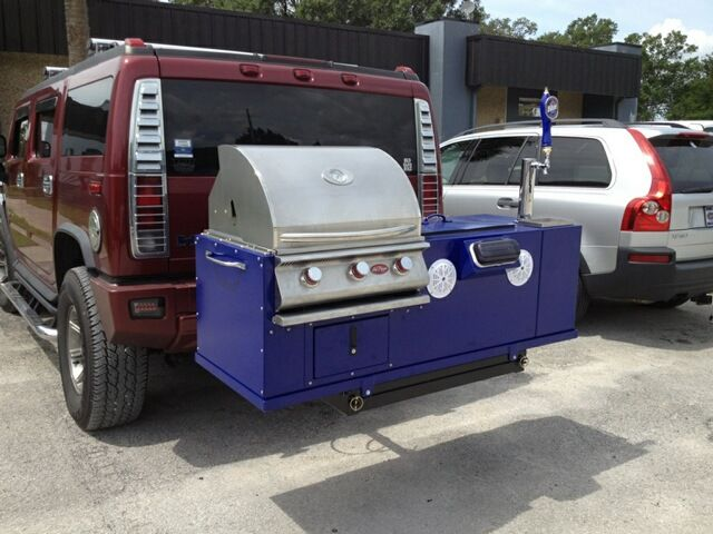 Hitch Mount Tailgating Grill Hitch Grill Pinterest
