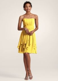 a7c37cfa77d Bridesmaid Dresses by Color by David s Bridal--this one is cute! (and said  it is flattering for pregnant bridesmaids!)  )