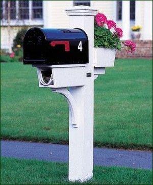 Morningstar Mail Post Modern Mailbo Other Metro Walpole Outdoors
