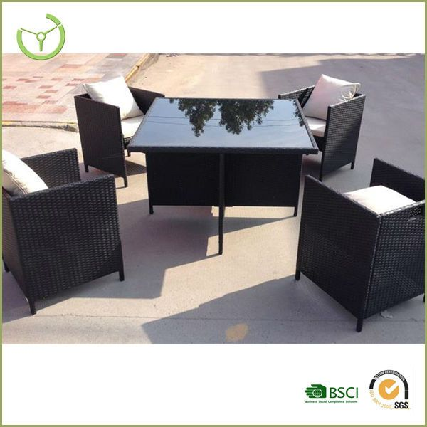 5pc poly rattan garden set 4 seater cube set patio furniture httpenjoygroupenalibabacomproduct60208426510 2093470425pc_poly_rattan_garden - Garden Furniture 4 Seater Sets