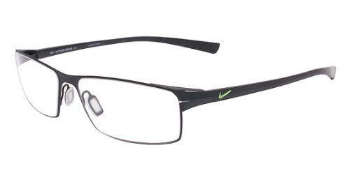 fe8374ef058 Nike 4203 Eyeglasses (7) Satin Black Chrome