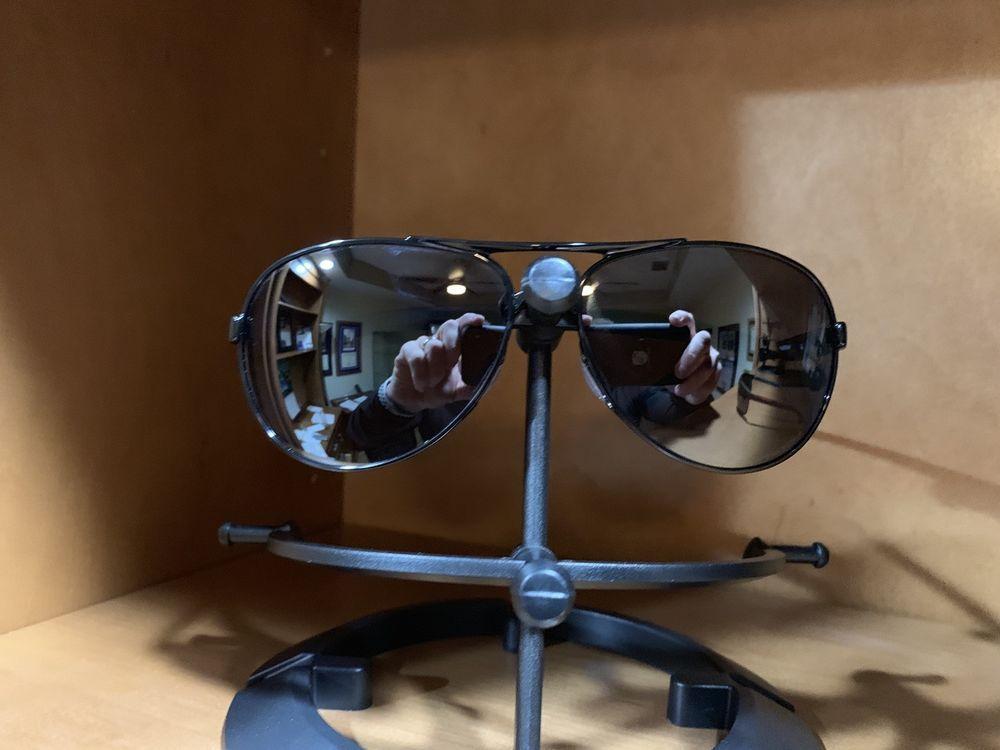 2da2cbc848 Oakley Feedback Women s Sunglasses OO4079-05 Metallic Black   Black Iridium  Lens  fashion  clothing  shoes  accessories  womensaccessories ...