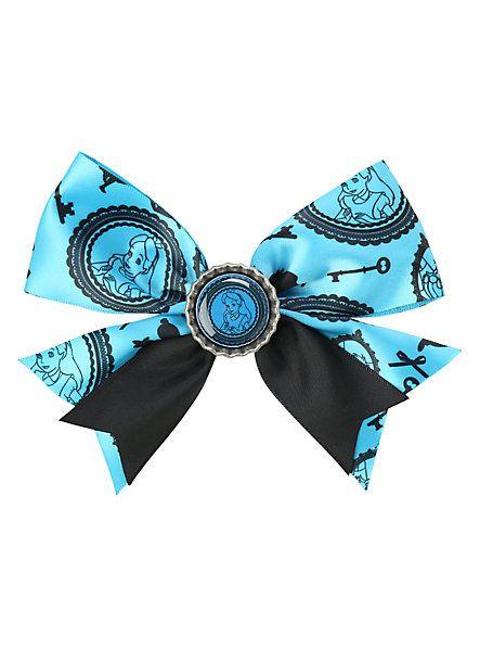 Disney Alice In Wonderland Blue Hair Bow Aliceinwonderland Disneyfashion