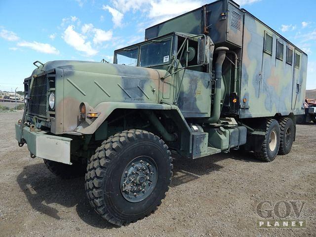 Surplus 1992 Bmy M934a2 5 Ton 6x6 Van Truck In Barstow California