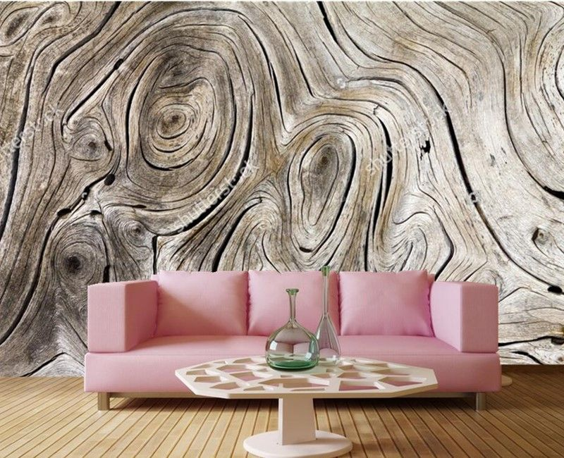 Custom Vintage Wood Texture 3d Vinyl Wallpaper Papel De Parede Restaurant Livng Room Tv Sofa Wall Bedroom 3d Creative Decor Dining Room Wallpaper Custom Murals