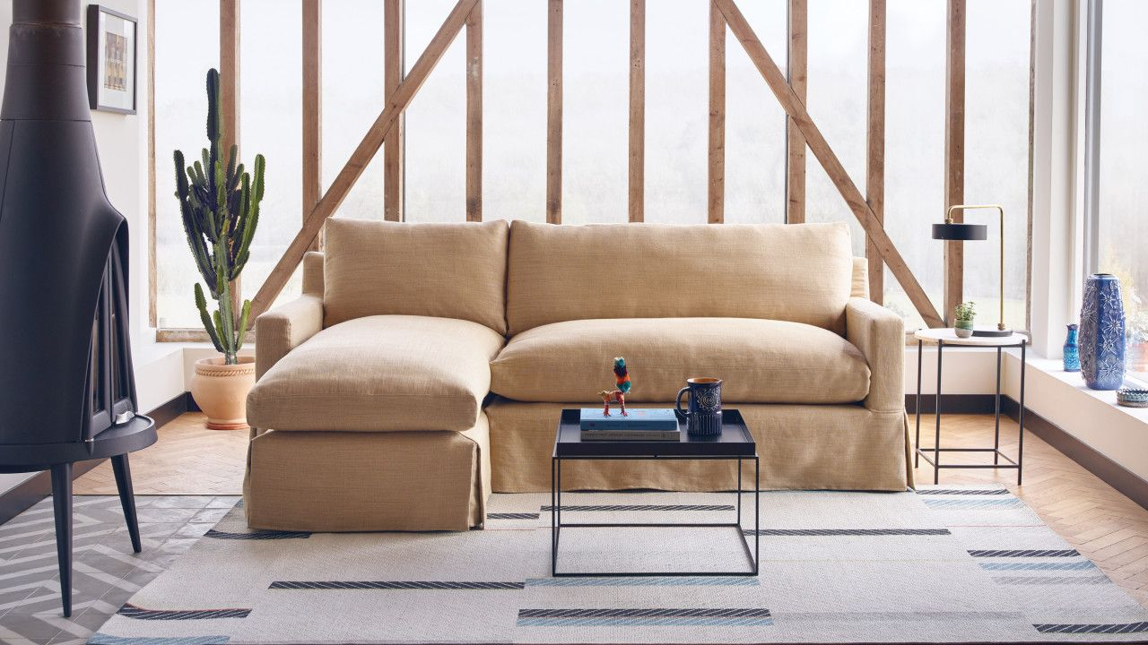 The Jackson Large Chaise Sofa by House & Garden for Arlo & Jacob ...