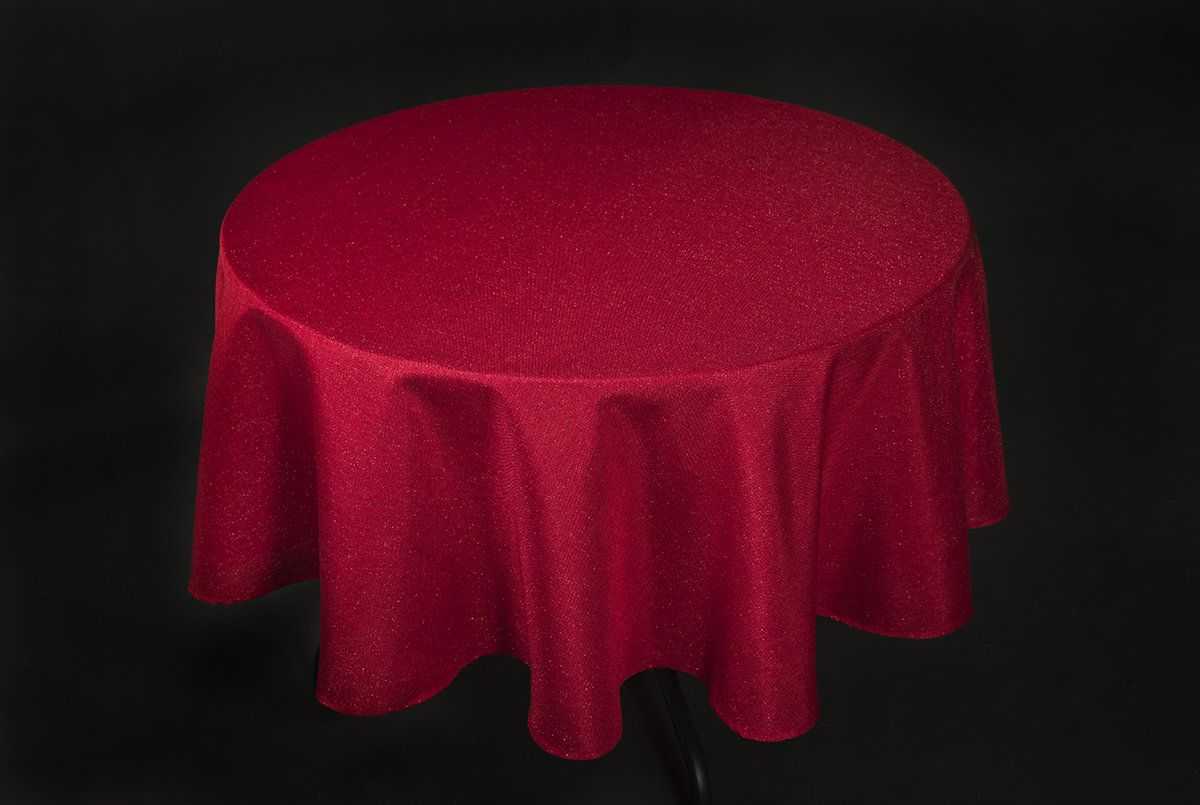 Gala Glistening Easy Care Tablecloth