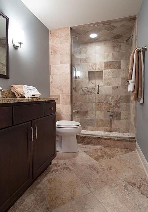 Caramel travertine tiles collections filled honed for Travertine tile bathroom gallery