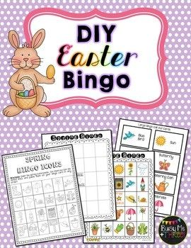 Easter bingo game diy do it yourself easter bingo and bingo games this is a fun easter bingo diy for your classroom church group moms group and more it is just something fun to do with the kids solutioingenieria Gallery