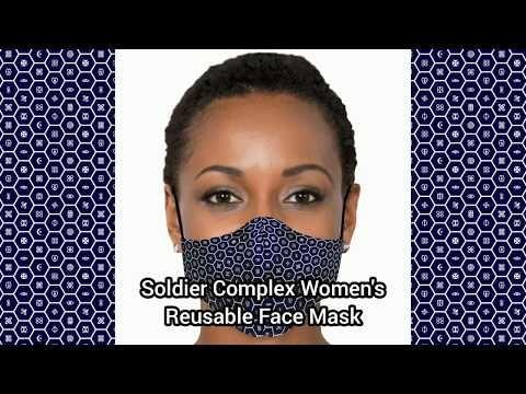 Soldier Complex Women's Reusable Face Mask 001