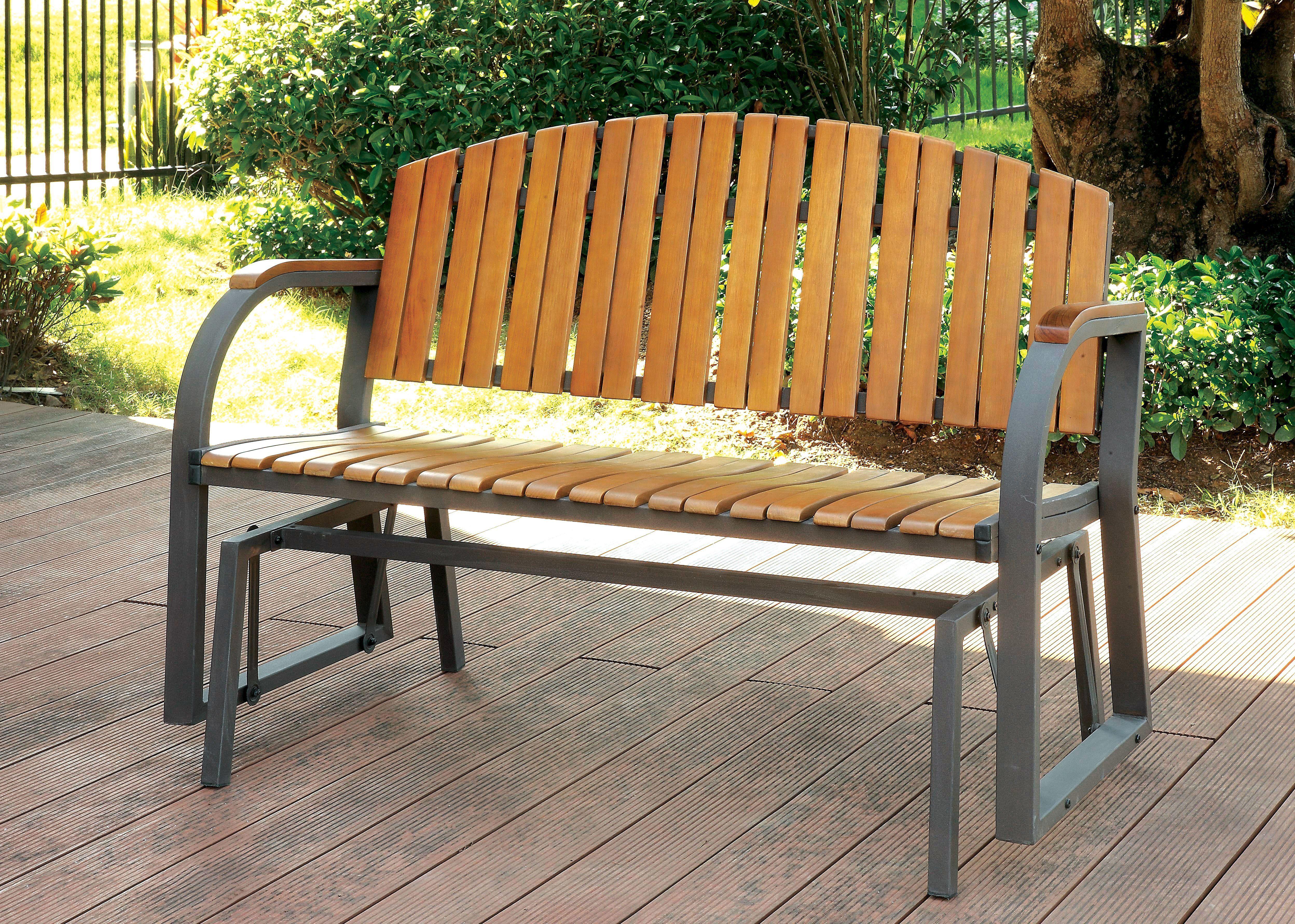 Surprising Odessa Cottage Style Outdoor Patio Rocking Bench Products Download Free Architecture Designs Momecebritishbridgeorg