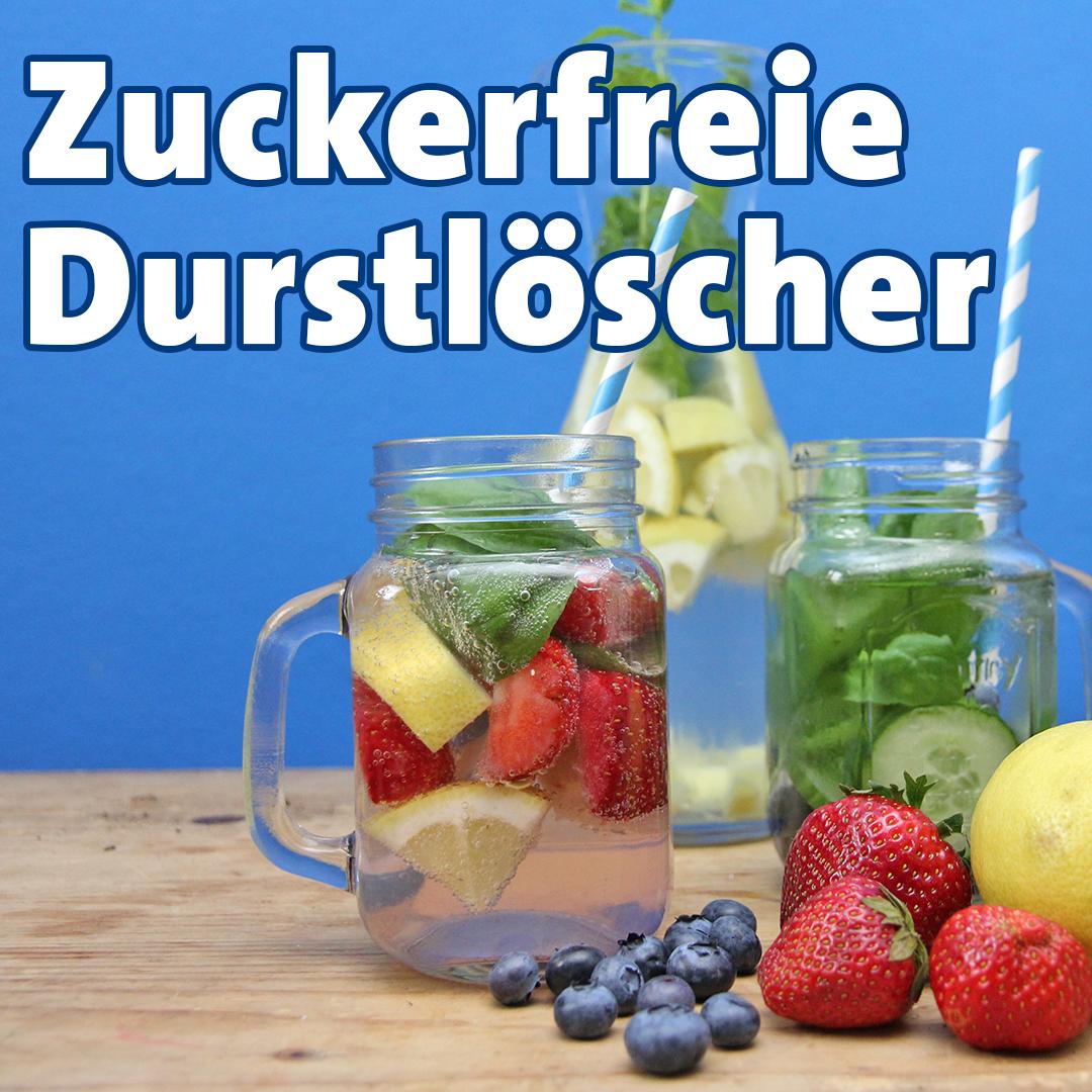 Leckere Schorlen und zuckerfreie Getränke ohne Alkohol zum ...
