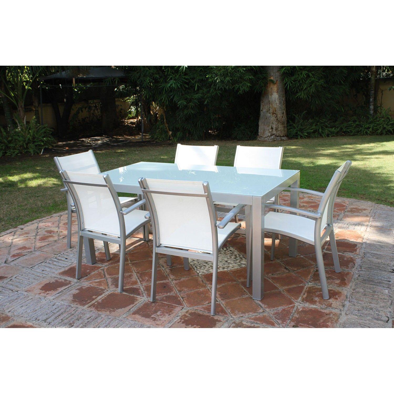 Majestic Garden Mesa y sillas de jardín Cádiz Conjunto de mesa y ...