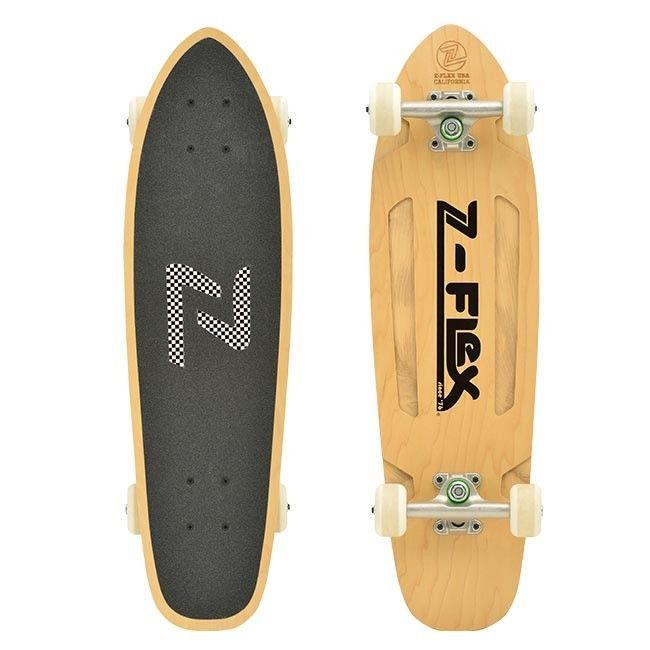 Z Flex Z Bullet Brown 27 5 Cruiser Z Flex Skateboards Cruisers Complete Skateboards Cruiser Skateboards
