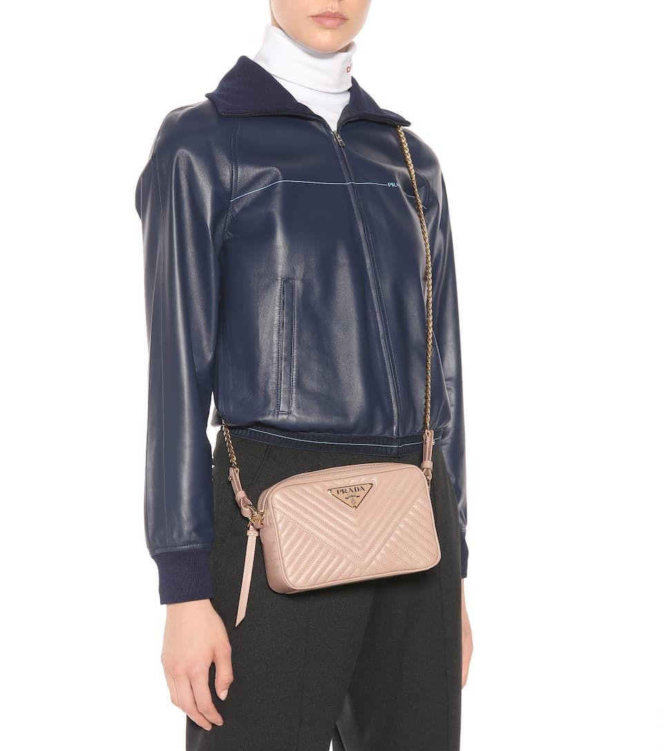 30fda95586f4 Prada - Matelassé leather shoulder bag | Mytheresa | handbags ...