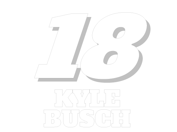 printable kyle busch 18 nascar coloring sheet