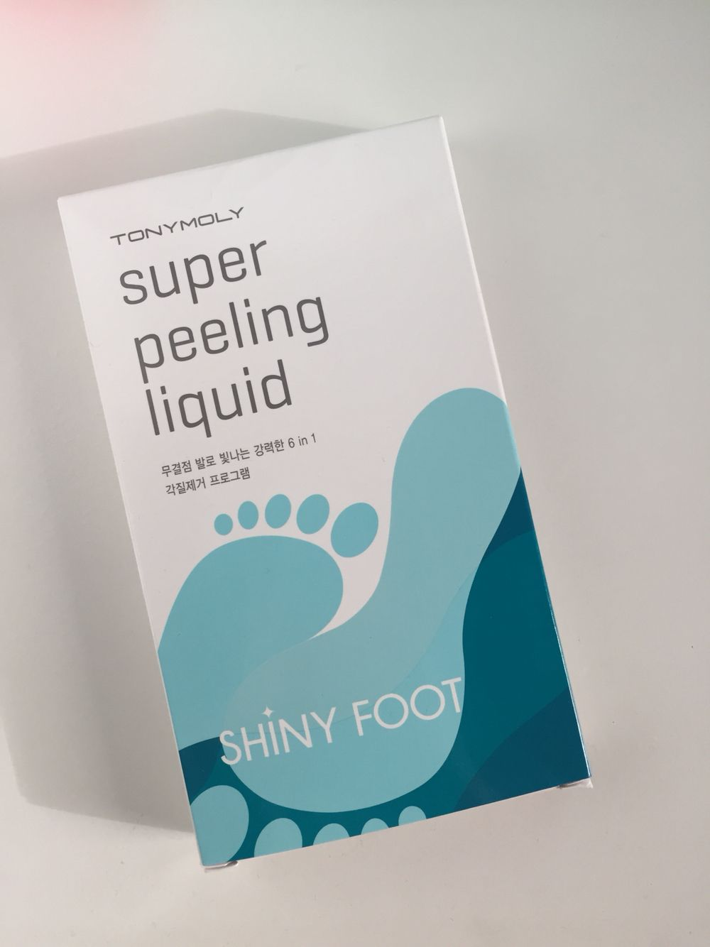 Tony Moly Shiny Foot Super Peeling Liquid