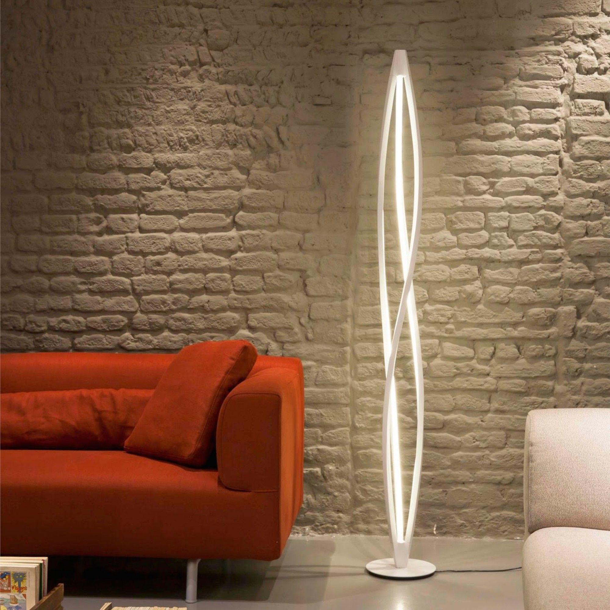 Twist 63 Floor Lamp Unusual Floor Lamps Cool Floor Lamps Unique Floor Lamps