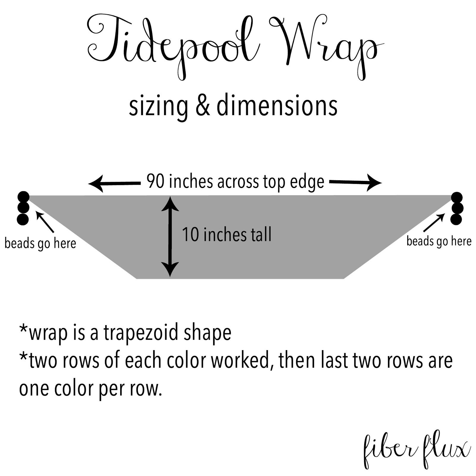 The Tidepool wrap is lacy and comfy with wonderful drape. Crocheted ...