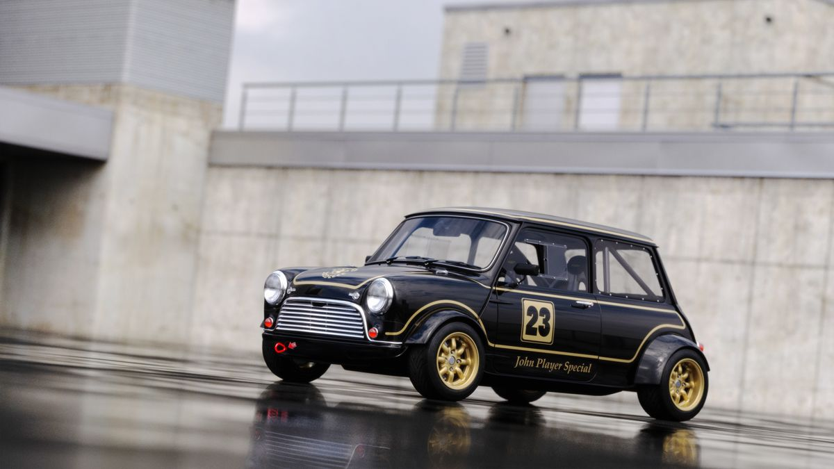 This Is My Dream Car A Custom Classic Mini With The Engine In The