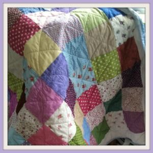 How to Make a Cotbed Quilt for Beginners, Step 1: Materials | Mum ... : step by step quilting for beginners - Adamdwight.com